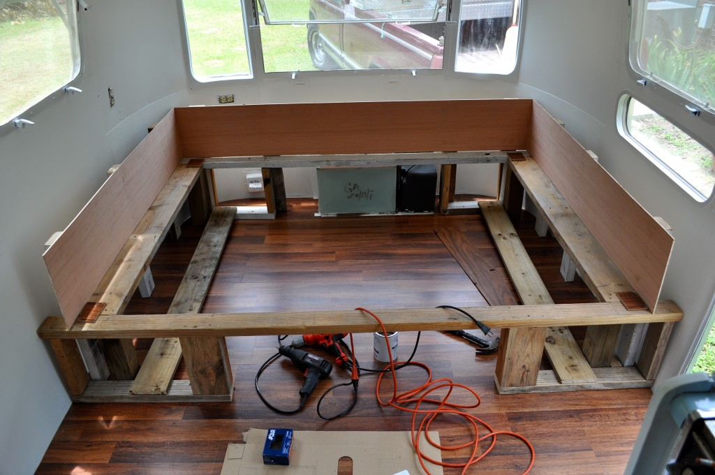 Airstream Update Bed Buildout Tips A Small Life