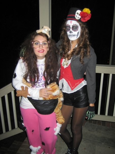 3581e7ab55f Easy and Cheap Halloween Costumes from Halloweens Past – a small life