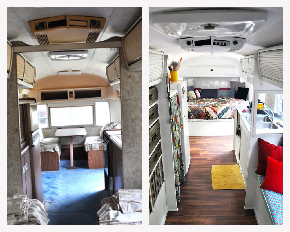 1978 Airstream Sovereign Land Yacht Remodel A Small Life